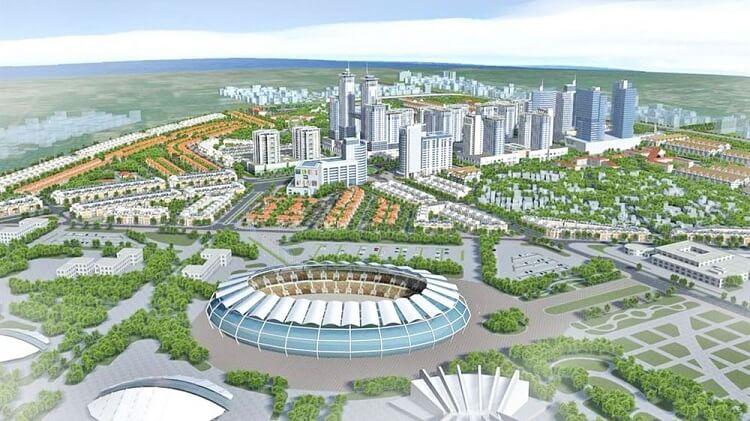 siêu đô thị vệ tinh Hòa Lạc trong tương lai