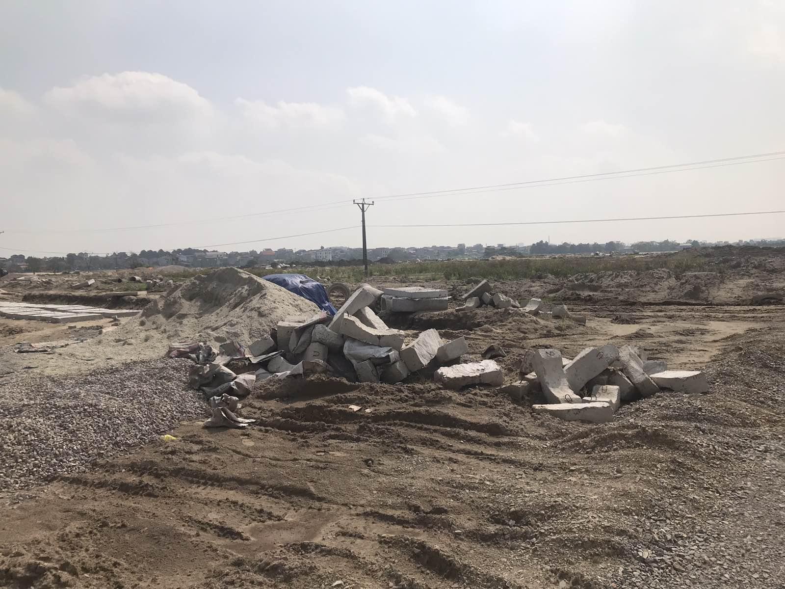 Một dự án BĐS đang được triển khai tại Yên Phong – Bắc Ninh