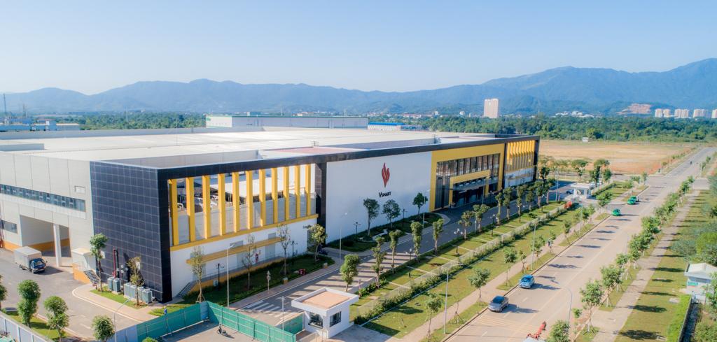 Toàn cảnh Nhà máy sản xuất thiết bị điện tử thông minh VinSmart tại Khu Công nghệ cao Hòa Lạc